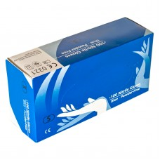 Blue Powder Free Nitrile Gloves