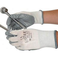 Palm Coated Nitrile Gripper Gloves