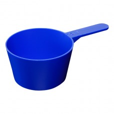 Blue Plastic Scoop