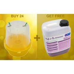 Buy 24 Wasp Traps get 5L Wasp Attractant Free